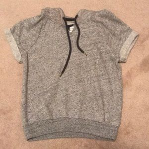 Abercrombie and Fitch short sleeve sweatshirt